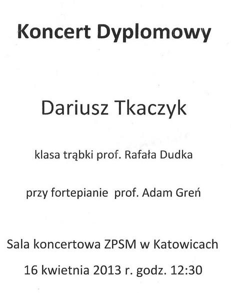 Dariusz Tkaczyk