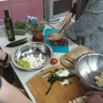 i jeszcze sałatka grecka